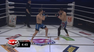 Ruslan Shamilov vs Bek Isakov, Road to M-1 - Saint Petersburg 2