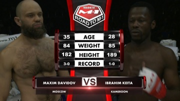 Maksim Davidov vs Ibrahim Keita, Road to M-1