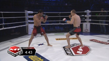 Askerkhan Magomedov vs Mikhail Kuznetsov, Road to M-1 - Saint Petersburg 2