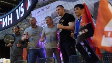 M-1 Challenge 92 Press-conference, M-1 Arena, Saint-Petersburg