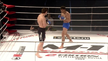 Dmitriy Pashinin vs Gadjimurad Omarov, M-1 Selection 2
