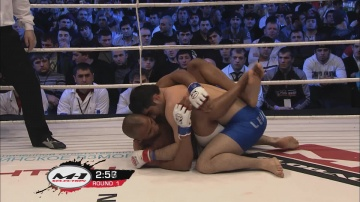 Ramazan Abdulzhalilov vs Gael Grimaud, M-1 Selection 2011: European Tournament