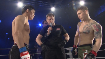 Rasul Tezekbaev vs Oleg Khromov, Road to M-1 - Saint Petersburg 2