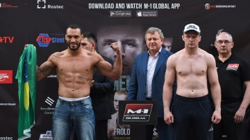 M-1 Challenge 93 Weigh-in, May 31, Chelyabinsk, Russia