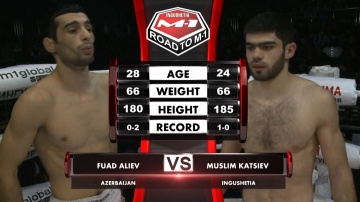 Fuad Aliev vs Muslim Katsiev, Road to M-1
