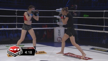 Anastasia Bobrysheva vs Ksenia Guseva, Road to M-1 - Saint Petersburg 2