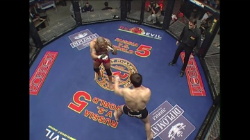 Ibragim Magomedov vs Valentijn Overeem, M-1 MFC: Russia vs the World 5
