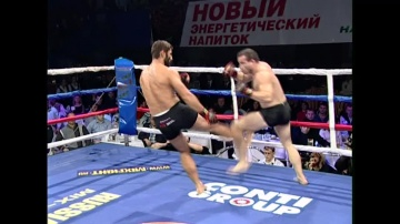 Amar Suloev vs Damien Riccio, M-1 MFC: Russia vs France