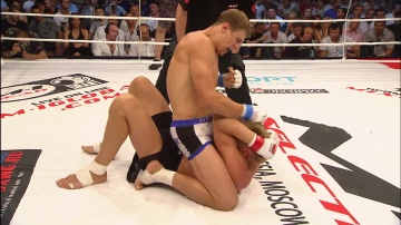 Maxim Grishin vs Alexander Volkov, M-1 Selection 2010: Eastern Europe Finals