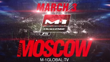 M-1 Challenge 75 official promo, March 3, Moscow