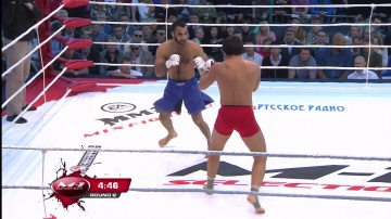 Vugar Bakhshiev vs Sergey Faustov, M-1 Selection 2010: Battle on Neva