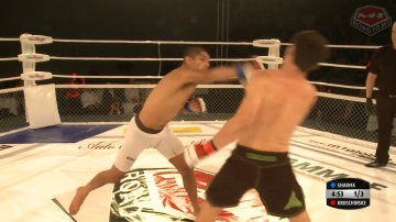 Jonny Kruschinske vs Sascha Sharma, Road to M-1: Germany