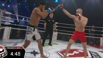 Avazbek Zhorobaev vs Gleb Levkovich, Road to M-1 - Saint Petersburg