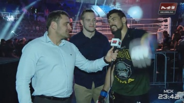 Klidson Farias de Abreu: It was a great fight and I'm ready for new challenges!