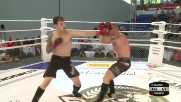 Martin Schubert vs Armondus Degimas, Road to M-1: Germany
