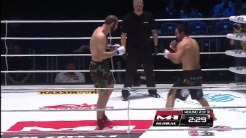 Salim Daudov vs Sergey Kornev, M-1 Global: Fedor vs Monson