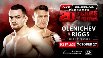 Joe Riggs vs Oleg Olenichev promo, M-1 Challenge 84, October 27, Saint-Petersburg
