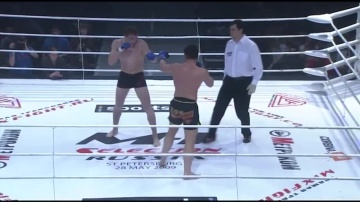 Ilya Malyukov vs Viktor Nemkov, M-1 Selection 3