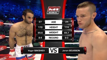 Vugar Bakhshiev vs Jerome Bouisson, M-1 Global - Fedor vs. Rizzo