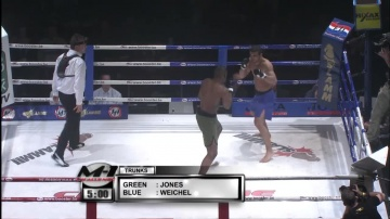 Jason Jones vs Daniel Weichel, M-1 Challenge 01