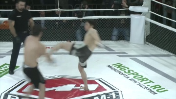 Magomed Khabibov vs Isa Khaniev, Road to M-1: Ingushetia 2