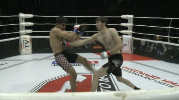 David Khanagaev vs Aslan Besaev, Road to M-1