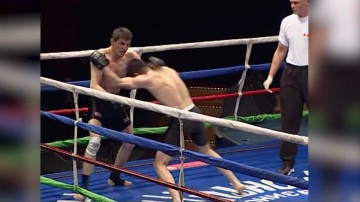 Arut Mesokyan vs Magomed Khimelov, Northwest Open MixFight Championship