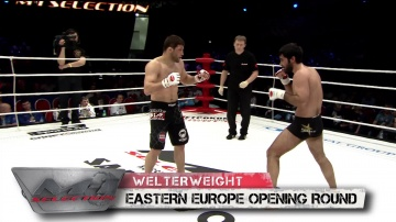 Radik Iboyan vs Shamil Zavurov, M-1 Selection 2010: Eastern Europe Round 2