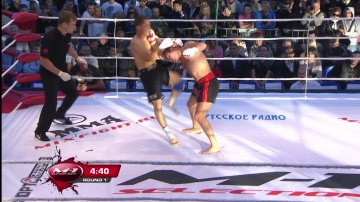 Mikhail Drinovski vs Alex Hakim, M-1 Selection 2010: Battle on Neva
