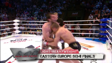 Vyacheslav Vasilevsky vs Alikhan Magomedov, M-1 Selection 2010: Eastern Europe Round 3