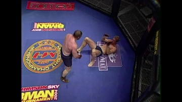 Ramazan Akhadullaev vs Peter Mulder, M-1 MFC: Middleweight GP