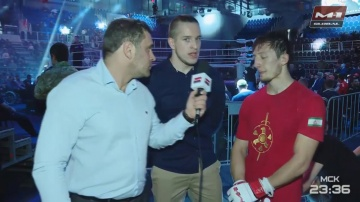 Abubakar Mestoev: I fought with a broken nose