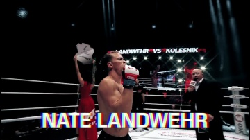 Nate Landwehr, the Contender's HL before his fight on M-1 Challenge 95