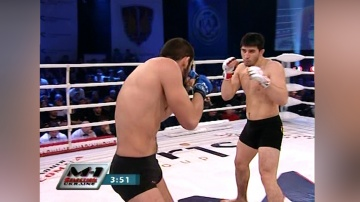 Ruslan Khaskhanov vs Rustam Khabilov, M-1 Selection Ukraine 2010 - The Finals