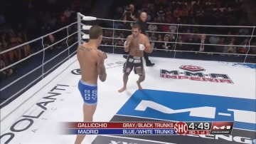 Daniel Madrid vs Tom Gallicchio, M-1 Challenge 27