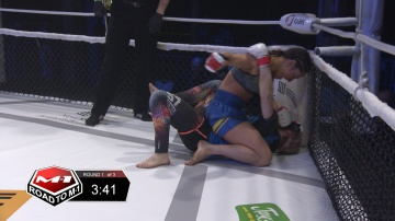 Rimma Golubeva vs Anna Rudenko, Road to M-1 - Saint Petersburg 2