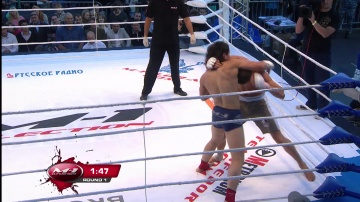 Davrbek Isakov vs Mikhail Dronov, M-1 Selection 2010: Battle on Neva
