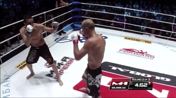 Alexander Yakovlev vs Juan Manuel Suarez, M-1 Global: Fedor vs Monson